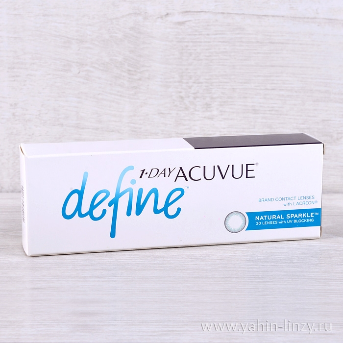 1 Day Acuvue Define Sparkle 30 шт.
