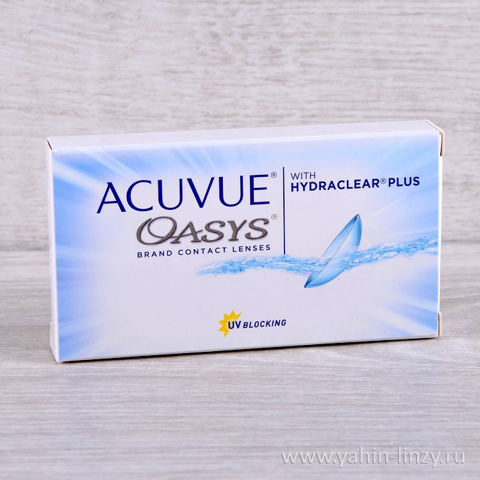 Acuvue Oasys with hydraclear Plus 6 шт.
