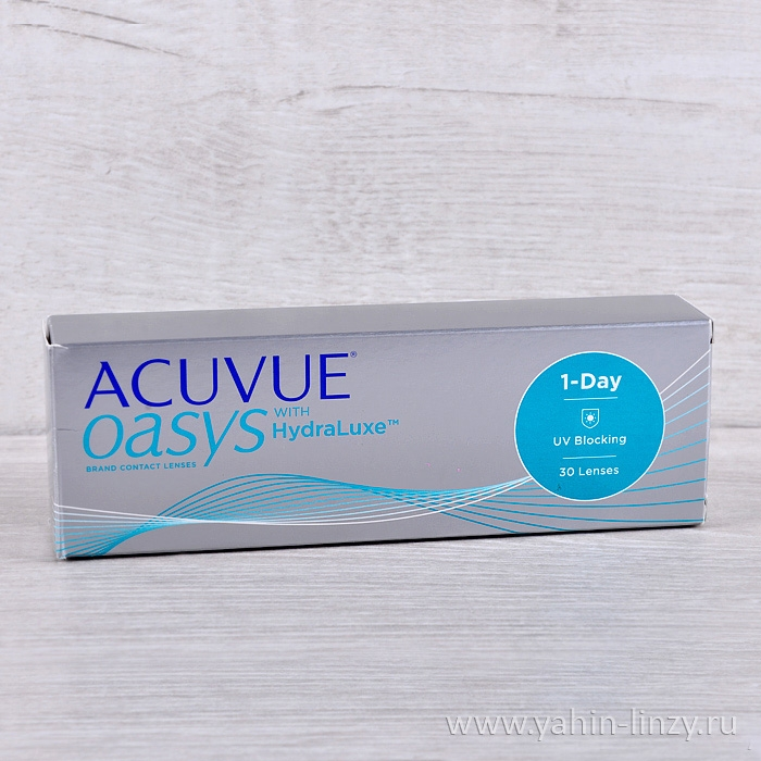 ACUVUE OASYS with HydraLuxe 30 шт.