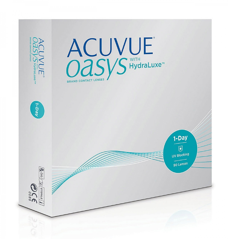 ACUVUE OASYS with HydraLuxe 90 шт.